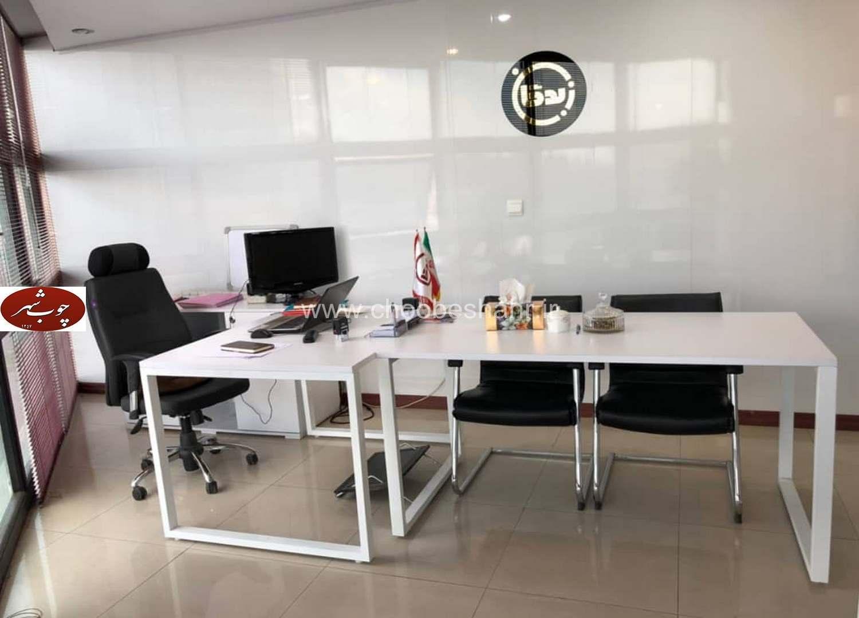 میز پایه فلزی آراد